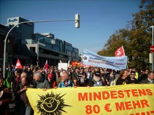 Demo:Krach schlagen statt Kohldampf schieben (C) PR-SOZIAL