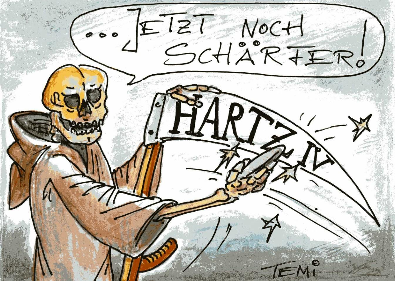 """Hartz IV- Spitzengespräche finden morgen offenbar ohne """"störende Linke"""" statt"""