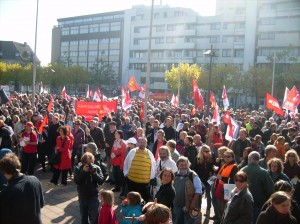 Krach schlagen statt Kohldampf schieben. Demo am 10.10.2010 in Oldenburg