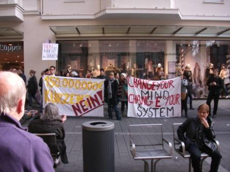 Occupy Bonn: Gegen die Ohnmacht, für mehr Demokratie – Wir sind die 99%