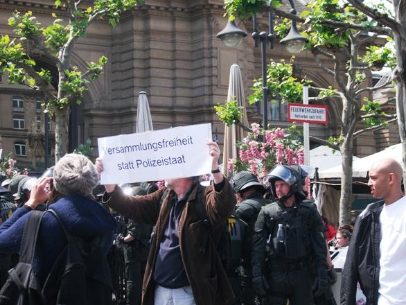 Blockupy Frankfurt geht weiter