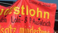 """Zum Tag der Einheit bundesweit """"Rote Linie gegen Armut""""*"""