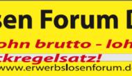 Erwerbslosen Forum Deutschland wieder online