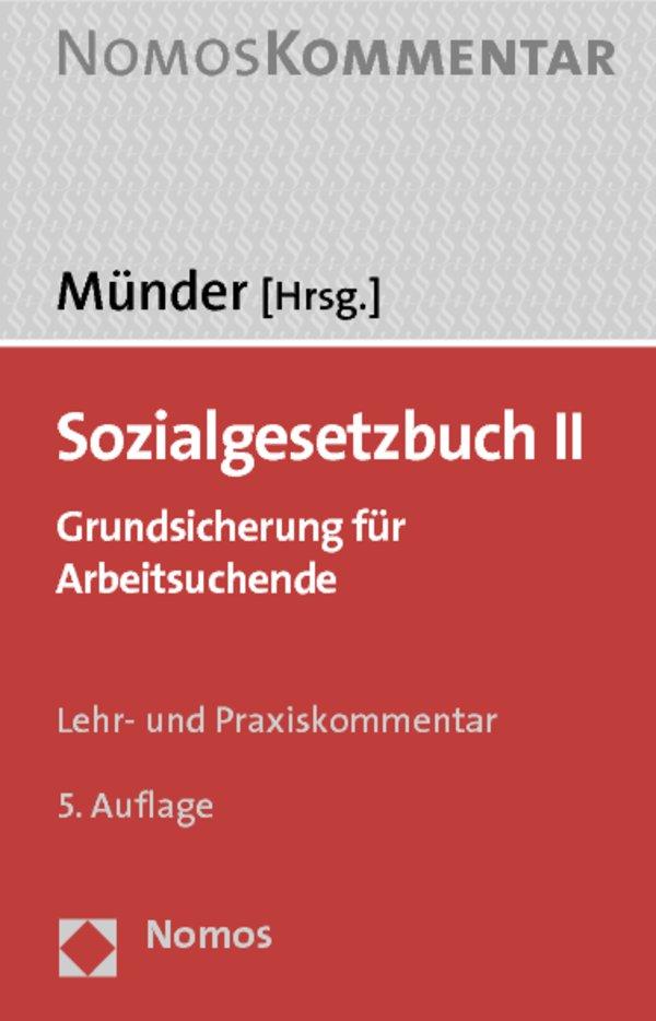 """Hartz IV: Der """"Münder"""" ist das Standardwerk zum Recht der Grundsicherung"""