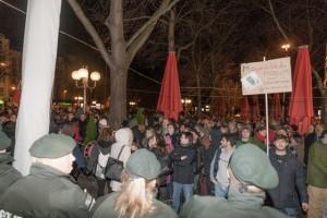 Anti-BOGiDA-Protest am 15.12. in Bonn Foto: Martin Behrsing