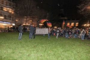 Bodiga-Veranstaltung wird gestört Fot: Martin Behrsing